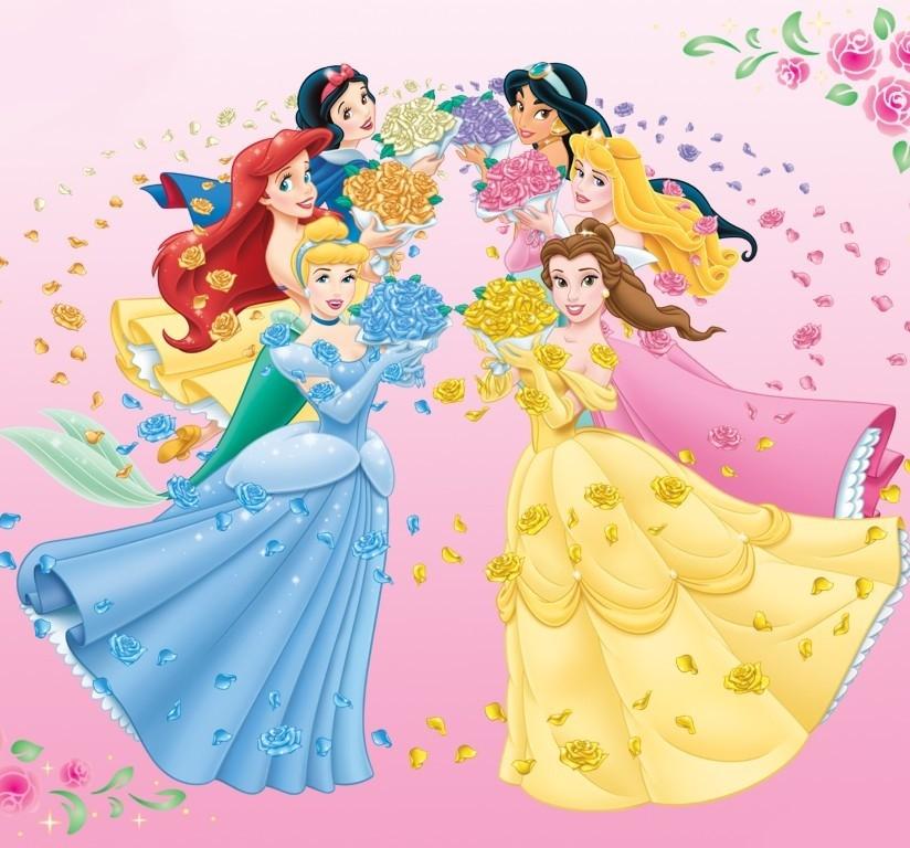 Картинки принцесс для дня рождения